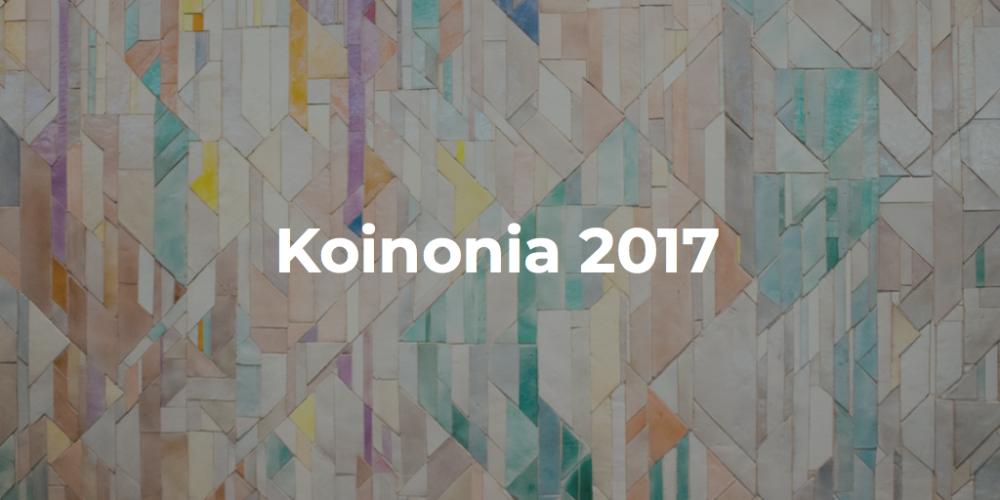 Koinonia 2017